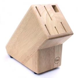 T&G Knife Block for 5 Knives and Scissors/Steel