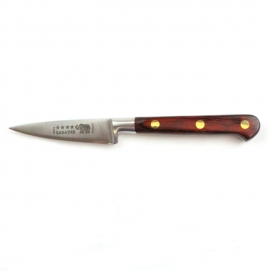 "Paring Knife - 3""/8cm Stainless Steel Red Stamina Handle"