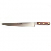 "Carving Knife 10""/25cm Stainless Steel Red Stamina Handle"