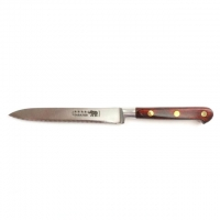 Tomato Knife Stainless Steel Red Stamina Handle