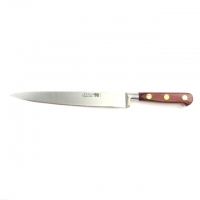 "Carving Knife - 8""/20cm Stainless Steel Red Stamina Handle"