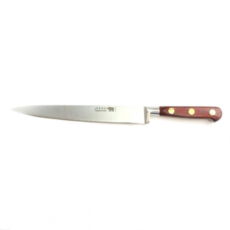 """Carving Knife - 8""""/20cm Stainless Steel Red Stamina Handle"""