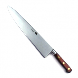"Cook's Knife - 12""/30cm Carbon Steel Red Stamina Handle"